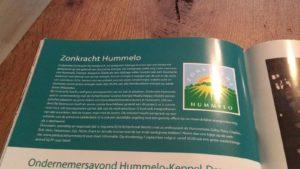 Zonkracht Hummelo in de Hessencombinatie