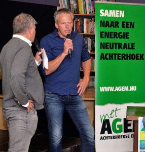 Frans Miggelbrink in gesprek met Henk Oosterink